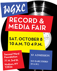 WGXC Record and Media Fair