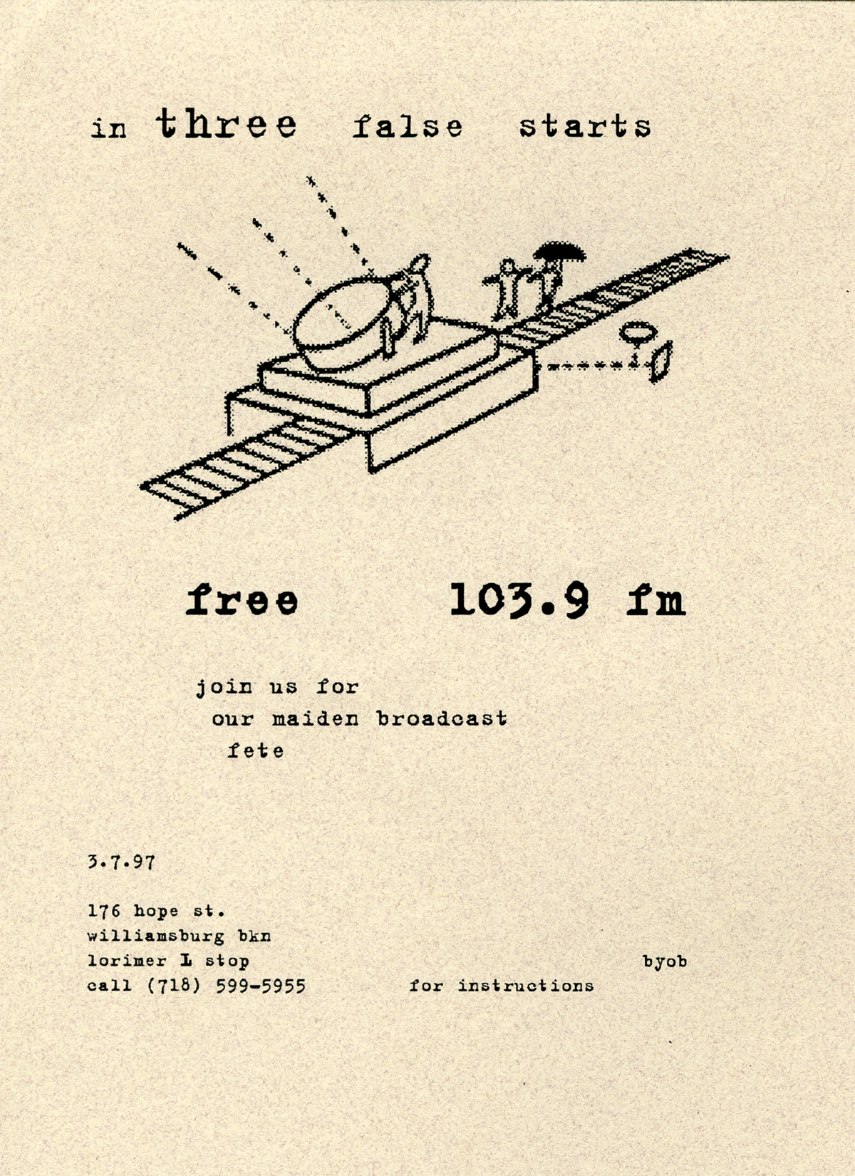 First Transmission Flyer #1