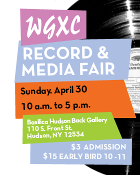 WGXC Record Fair April 2017