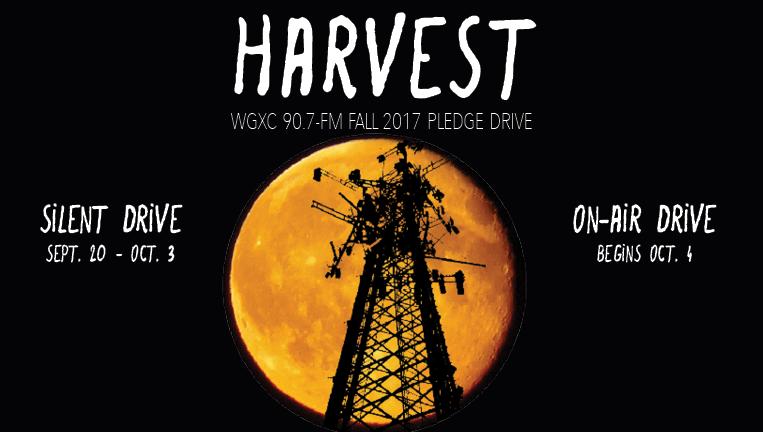 Harvest Pledge Drive graphic.