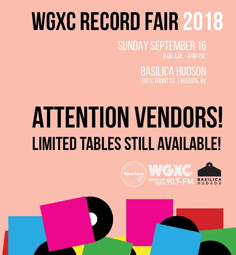WGXC RECORD FAIR 2018