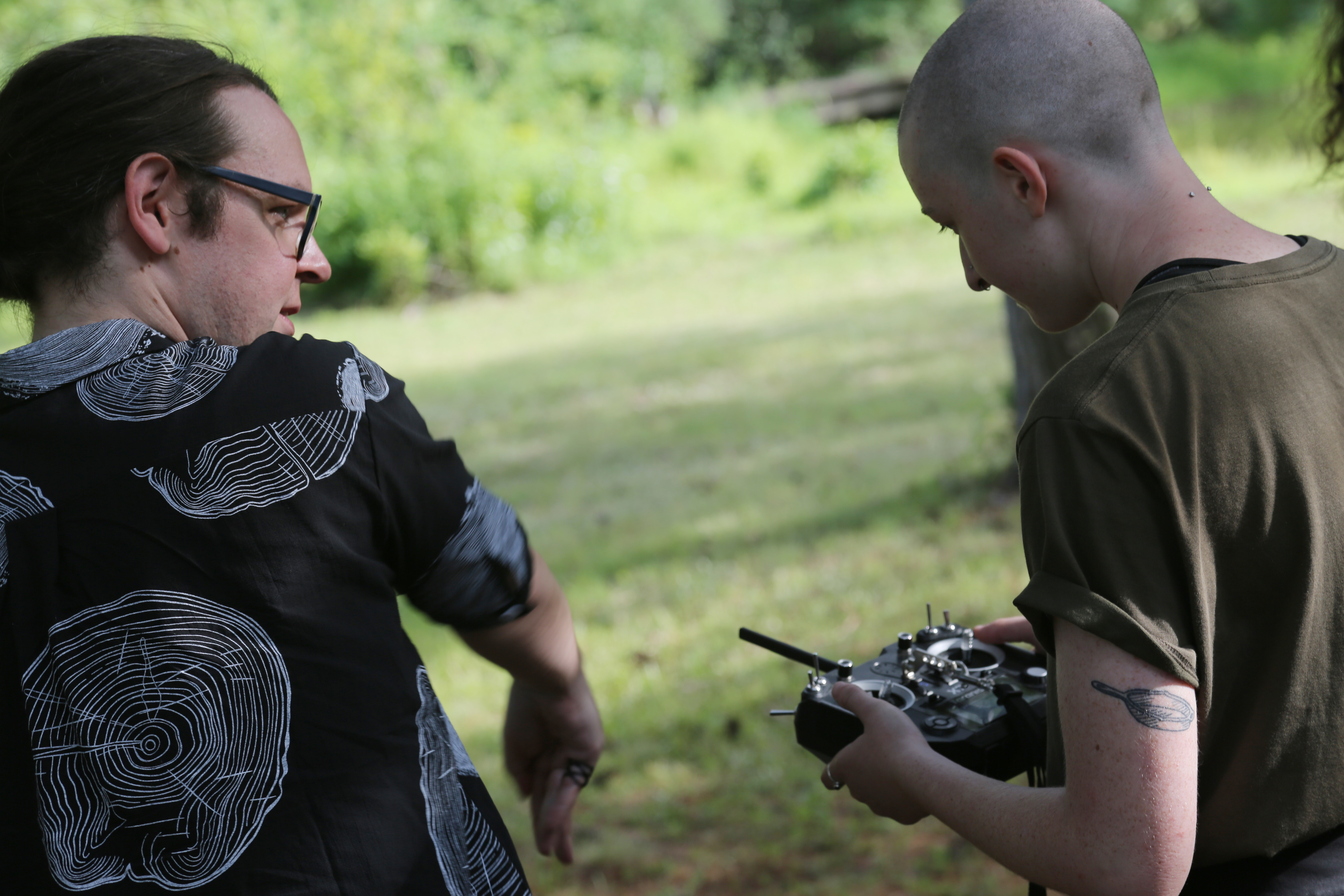Flight Instruction at the Aerial Actor Drone Workshop
