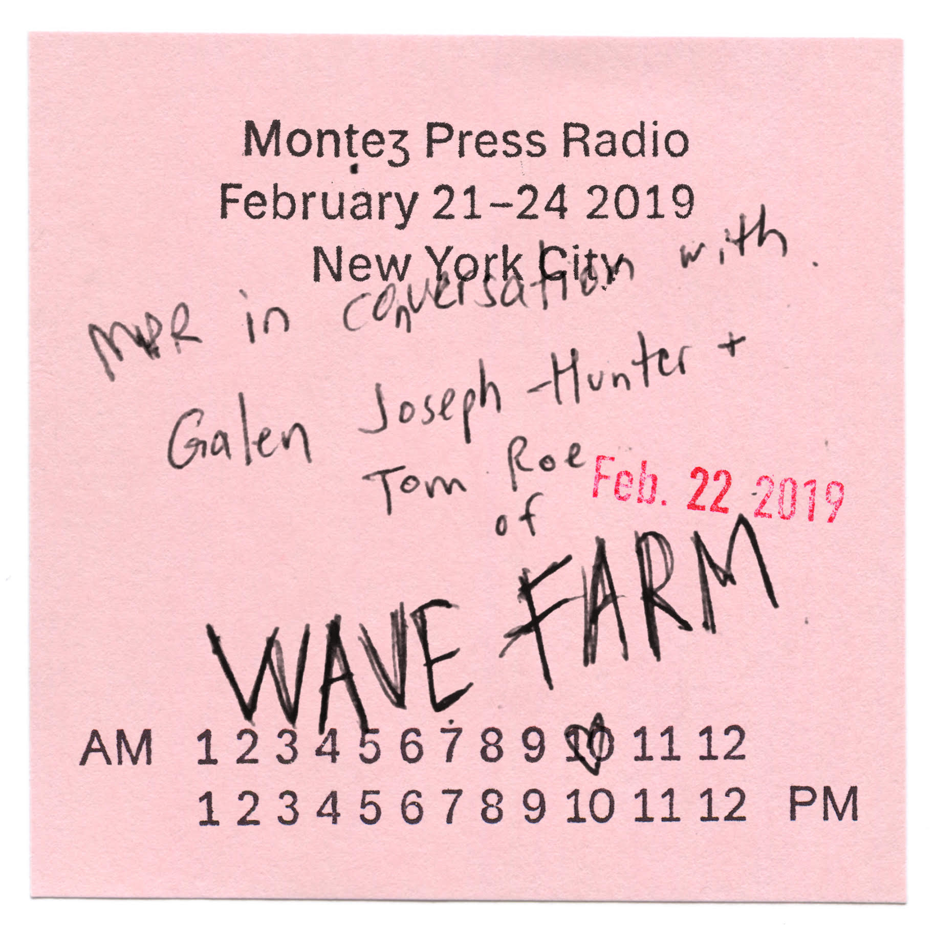 Montez Press Radio and WGXC Morning Show Exchange Interview Image