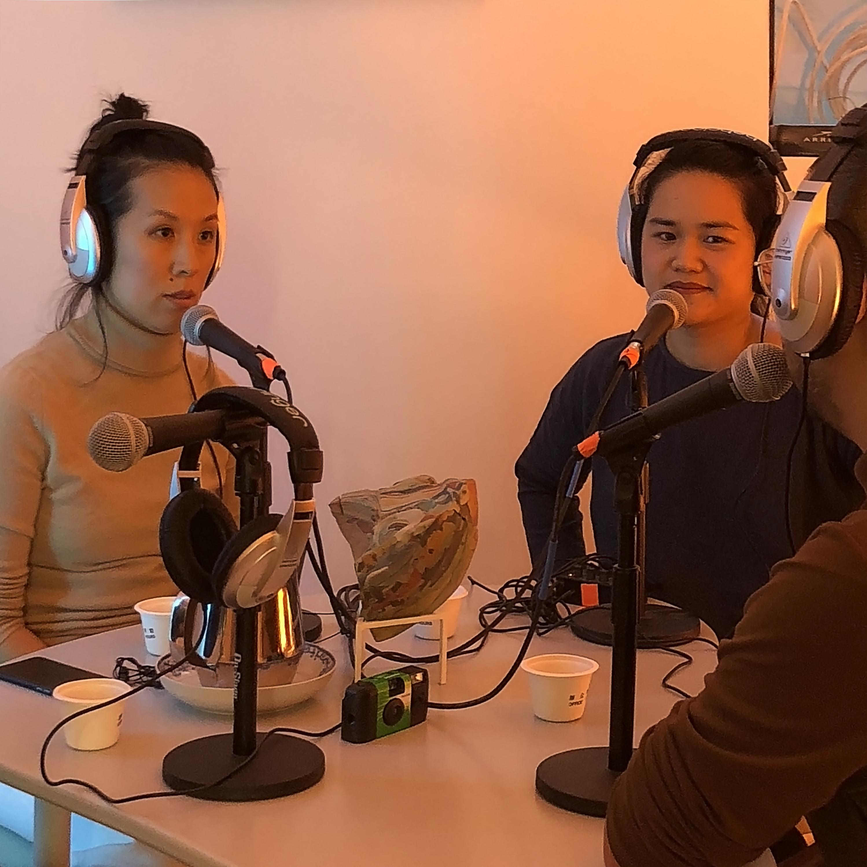 Nikki Chung and Dunjai Pungauthaikan on Food Radio Office Hours.