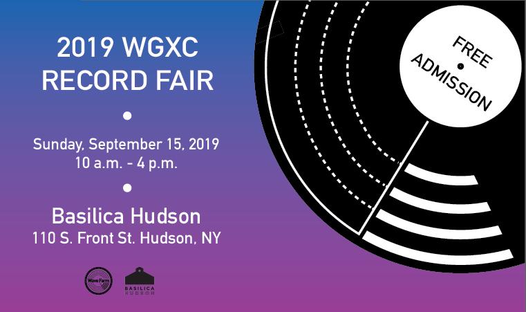 WGXC Record Fair 2019 Website Graphic