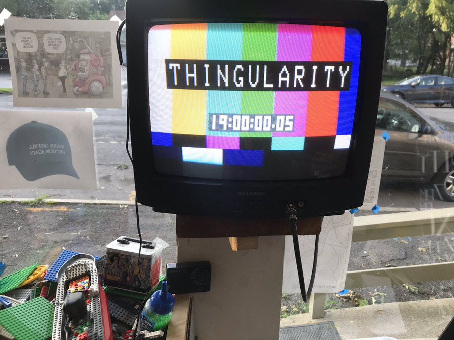 Thingularity timeclock image.