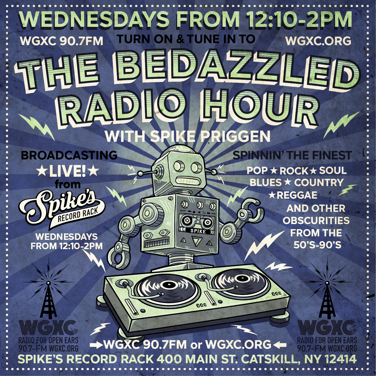 The Bedazzled Radio Hour Live Show Image