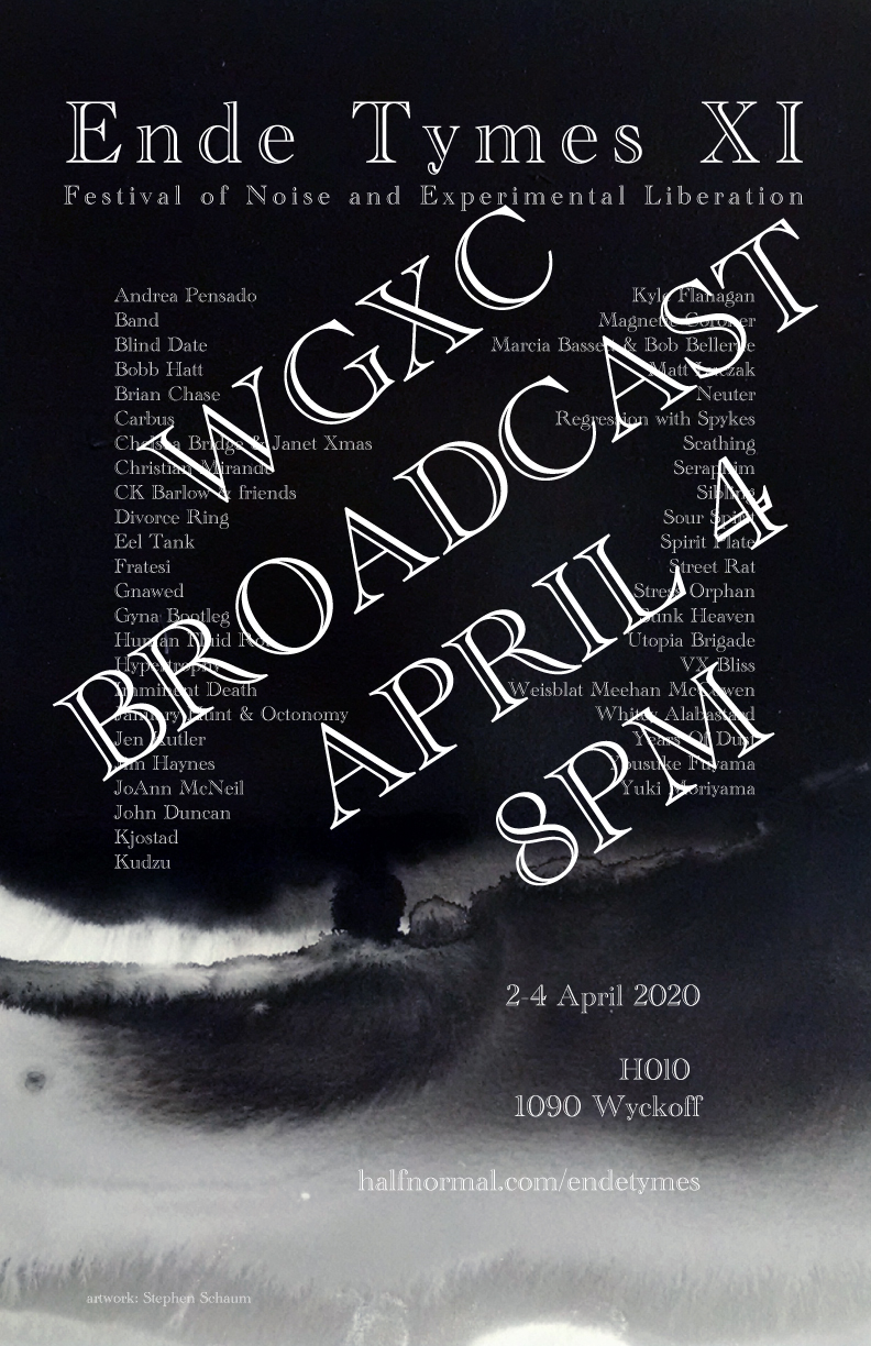 Ende Tymes XI Broadcast Poster