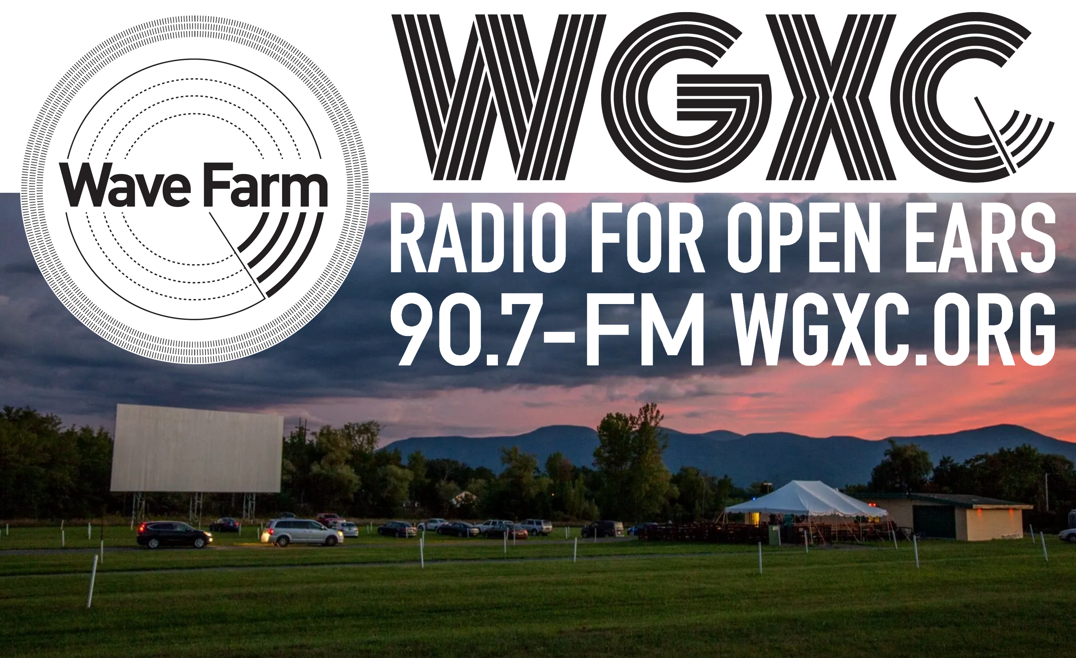WGXC 10th Anniversary Drive-in Event Image