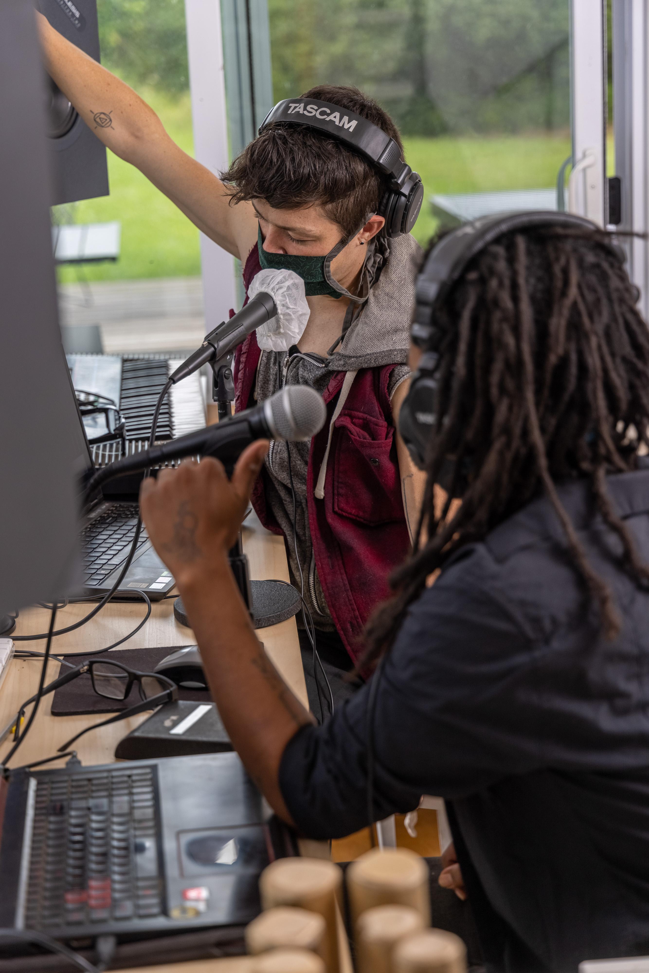 Khonsu X and Titan Recording Together