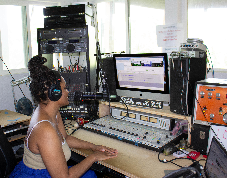 Temar France live on WGXC (2)