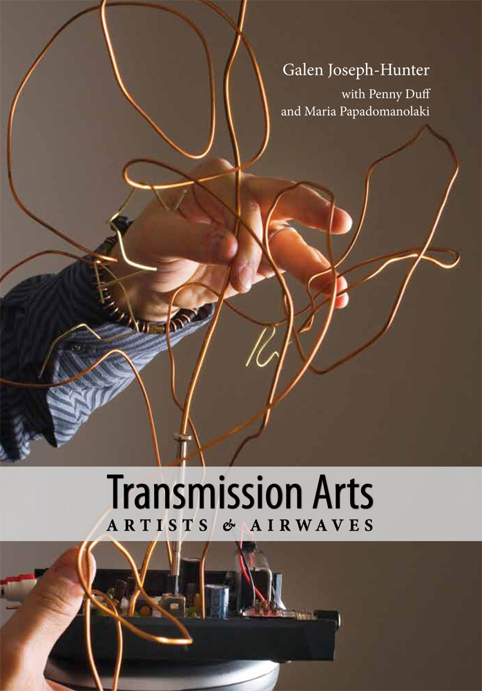 Transmission Arts: Artists and Airwaves: Book Cover
