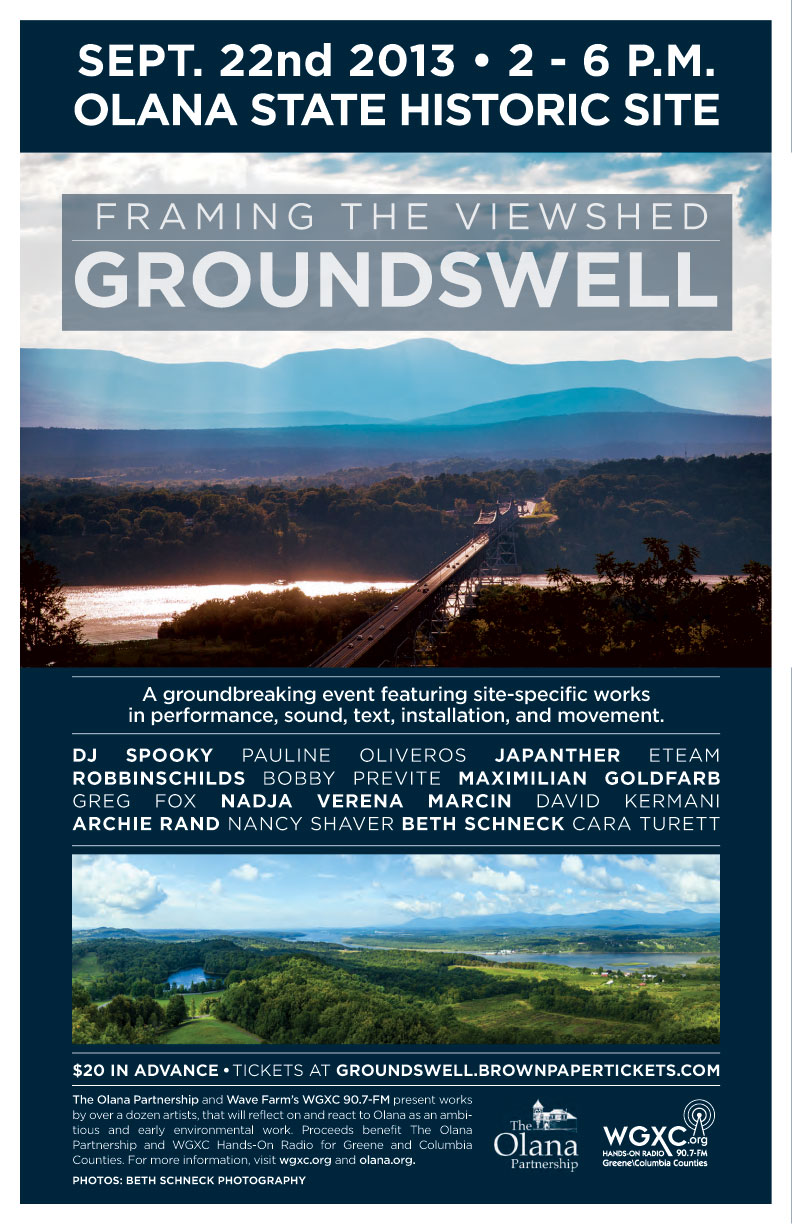 Framing the Viewshed: Groundswell Poster