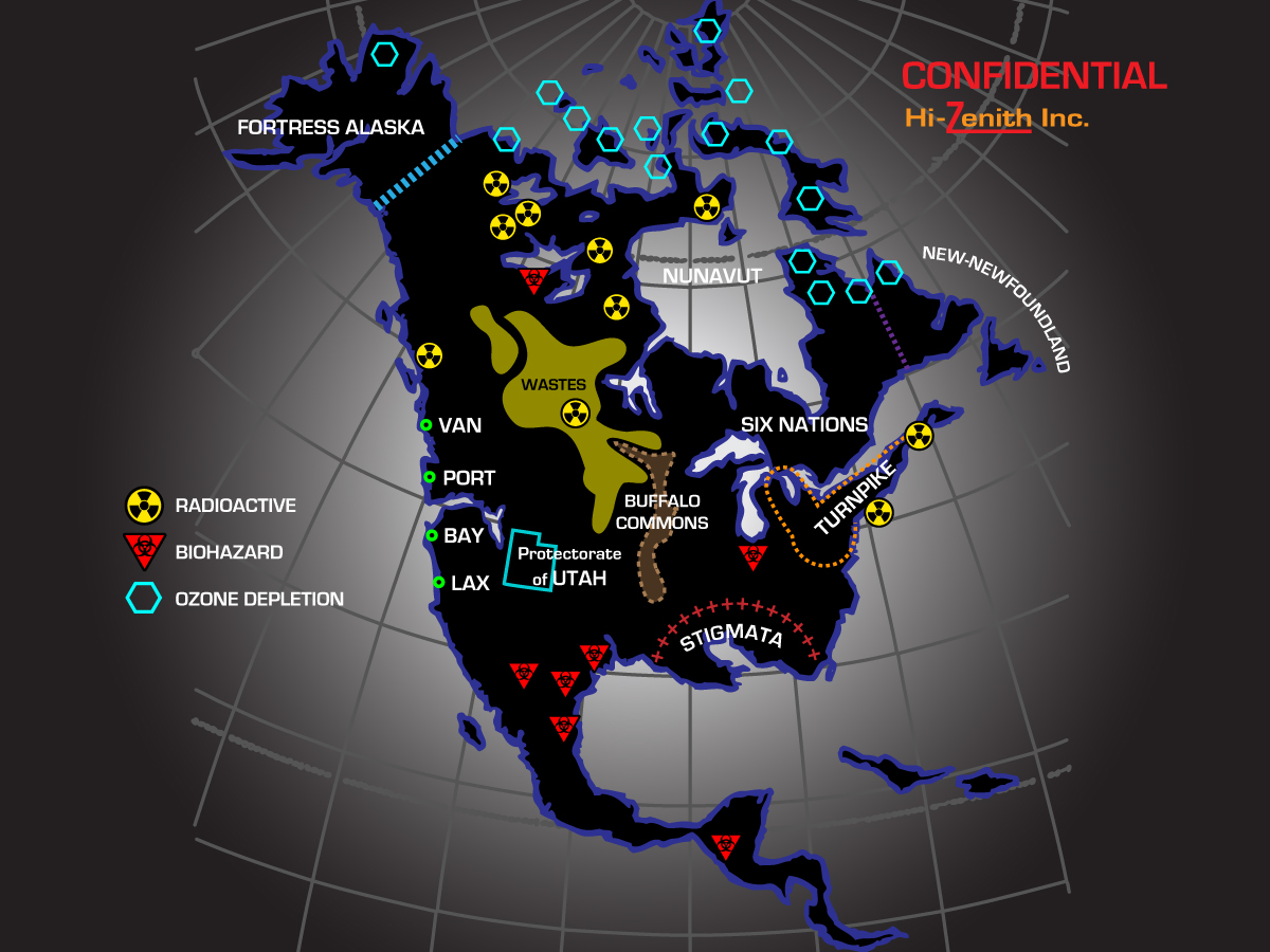 New North America
