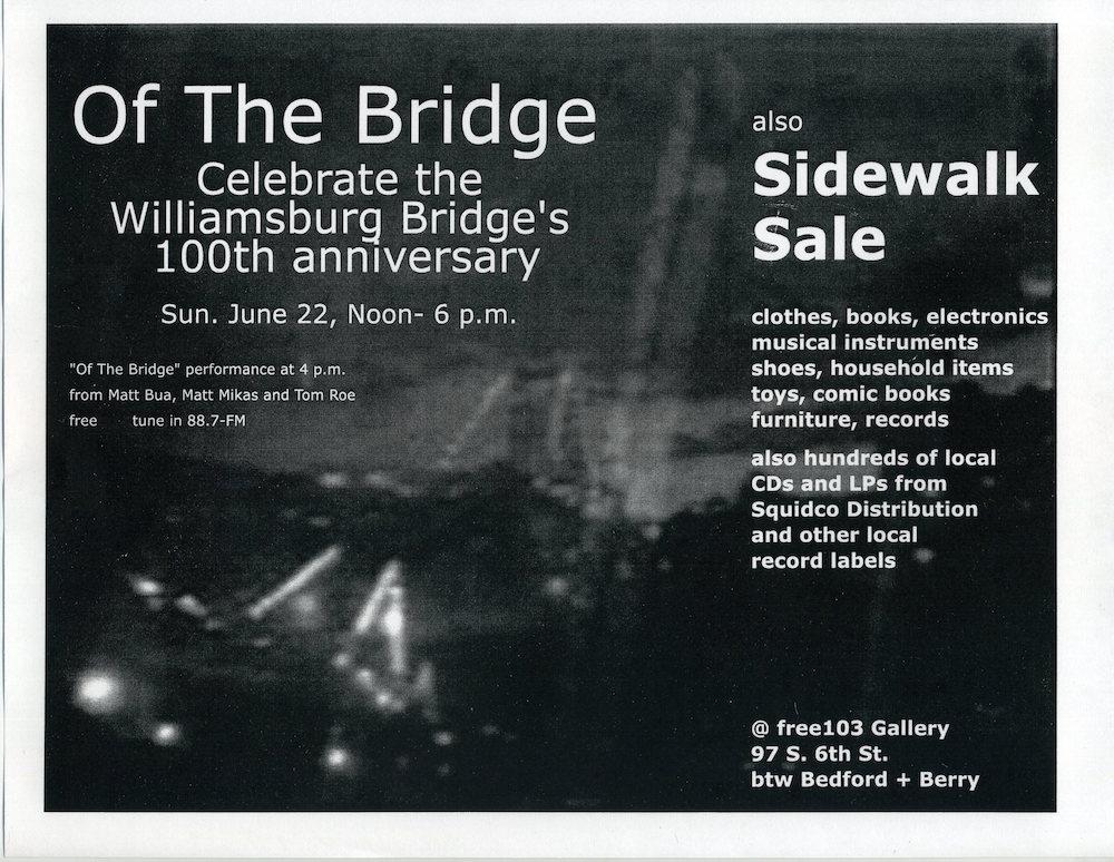 Of The Bridge flyer