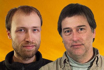 Zach Poff and N.B. Aldrich Portrait Image