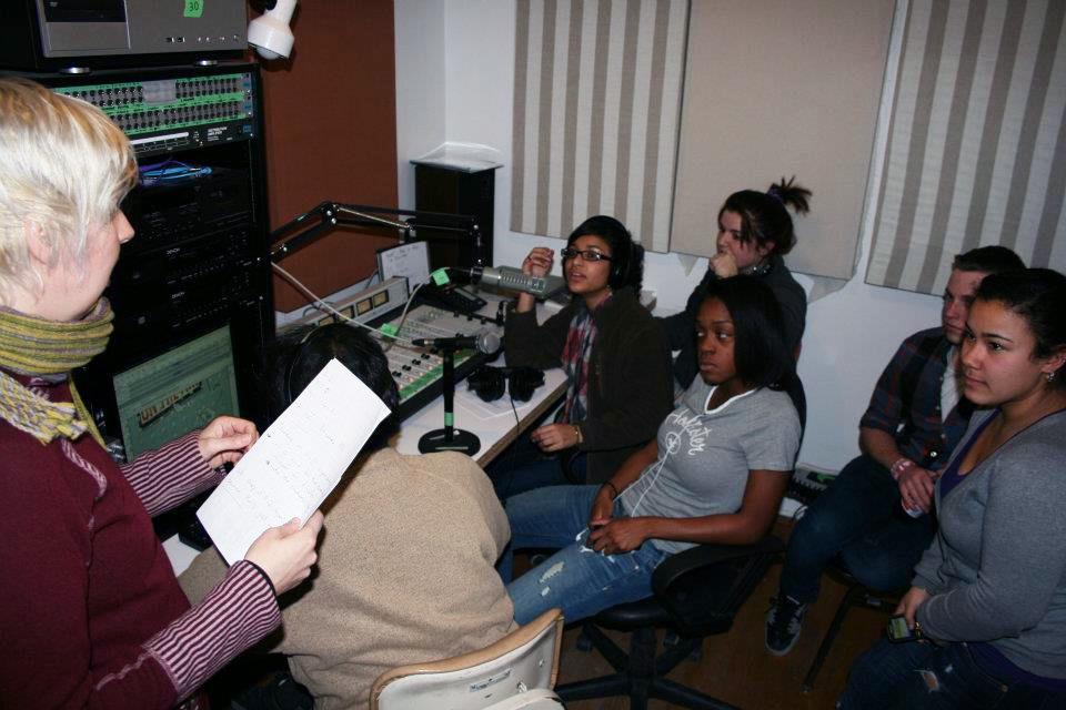 Anna Friz and Emmanuel Madan with Radio Explosion