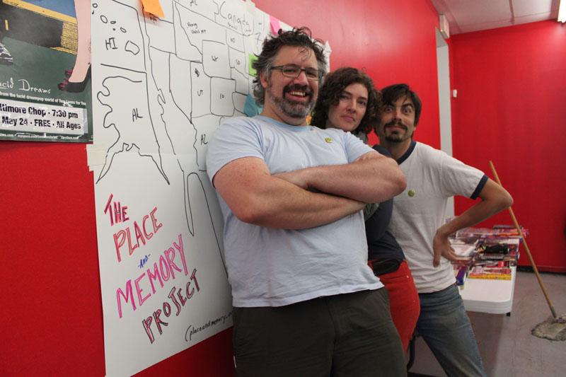 """Documentary Square Dance: The Place + Memory Project / Big Shed""/ Shea Shackelford, Jennifer Deer, Jesse Dukes"