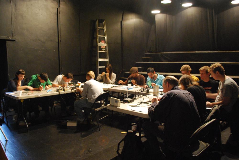 Radio Lab: Transmitter Building Workshop