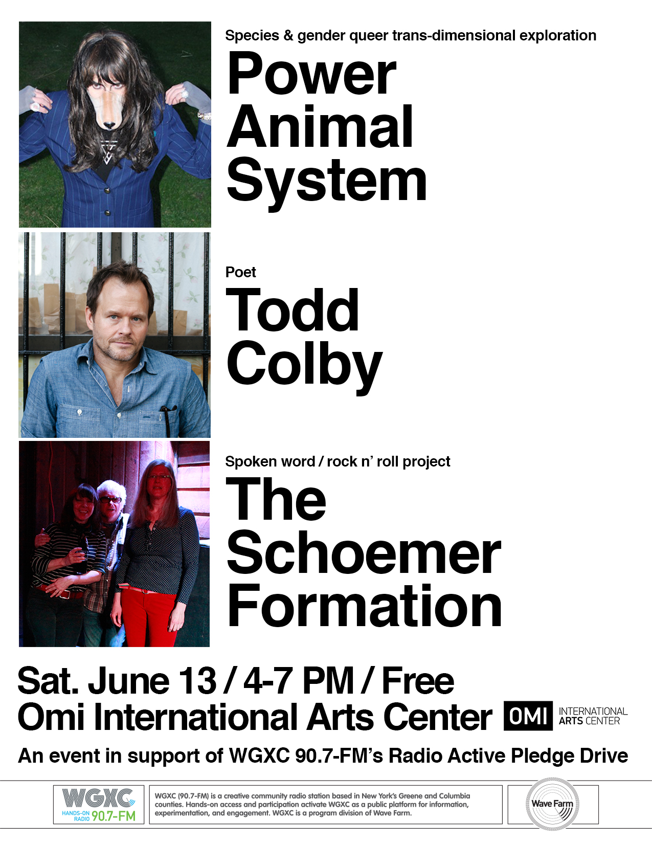Power Animal System, Todd Colby, The Schoemer Formation Flyer