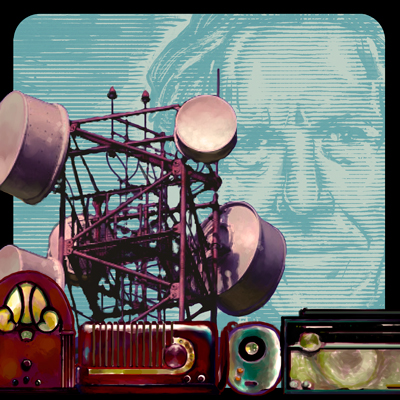 """Image for """"Talk Radio"""" by Emma Ball"""